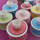 Zuckerdosen Dotty in verschiedenen Farben